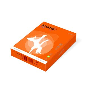 Papier farbig orange - DIN A4 80g