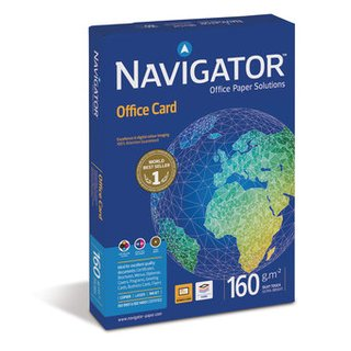Druckpapier DIN A6 - Navigator Office Card 160g