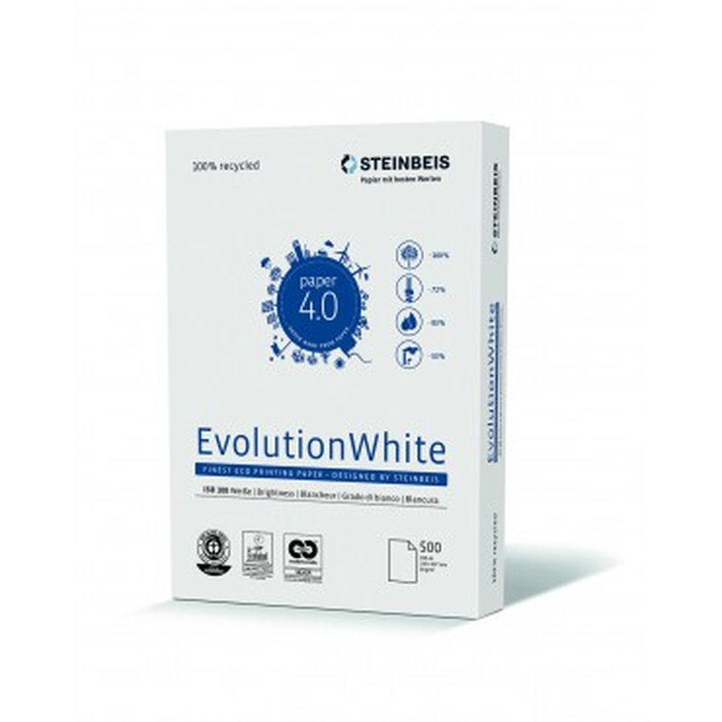 Recycling Papier A4 - Steinbeis Evolution White 80g