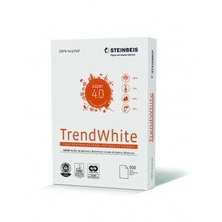 Recycling Papier A4 - Steinbeis Trend white 80g/m²